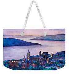 Ithaca Ny Weekender Tote Bag