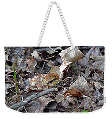 It's A Baby Grouse Weekender Tote Bag