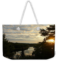 Weekender Tote Bag featuring the photograph It's A Beautiful Morning by Debbie Oppermann