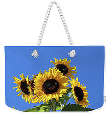 It's A Blue Sky Day Weekender Tote Bag