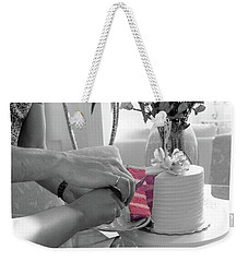 It's A Girl Weekender Tote Bag