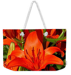 It's All About Red Weekender Tote Bag