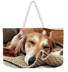 It's Been A Hard Day...  #saluki Weekender Tote Bag