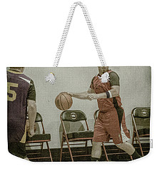Weekender Tote Bag featuring the photograph It's My Ball by Ronald Santini