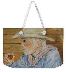 Its Not Dyin Im Talkin About, Its Livin Weekender Tote Bag by Belinda Nagy