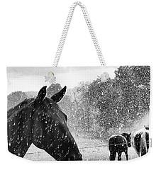 It's Raining Weekender Tote Bag
