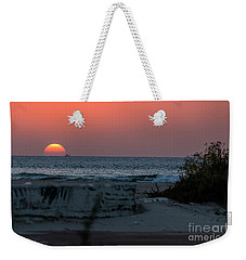 It's The End Of The Day Weekender Tote Bag by Arik Baltinester