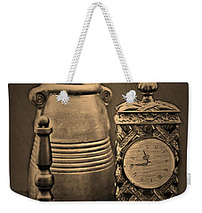 It's Time For... Weekender Tote Bag by Sherry Hallemeier
