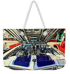 Its What's Under The Hood Weekender Tote Bag by Jimmy Ostgard