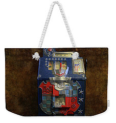 It's Your Dime-1936 Antique Slot Machine Weekender Tote Bag