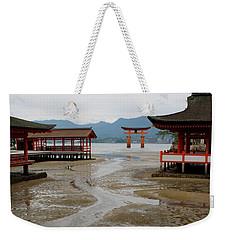Itsukushima Shrine And Torii Gate Weekender Tote Bag