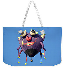 Weekender Tote Bag featuring the photograph Itzy Bitzy Spider by AJ Schibig