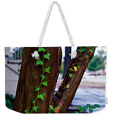 Ivy In Williamsburg Weekender Tote Bag