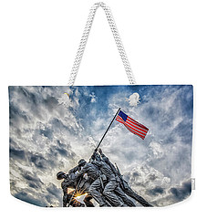 Iwo Jima Memorial Weekender Tote Bag by Susan Candelario