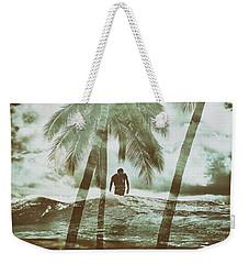 Izzy Jive And Palms Weekender Tote Bag