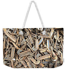 J Weekender Tote Bag