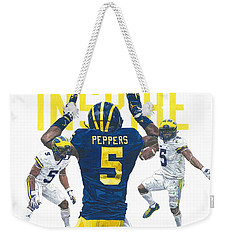 Jabrill Peppers Weekender Tote Bag