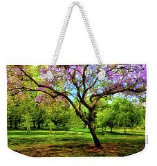 Jacaranda Tree Weekender Tote Bag by Joseph Hollingsworth