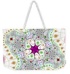 Weekender Tote Bag featuring the digital art Jacheracke by Andrew Kotlinski