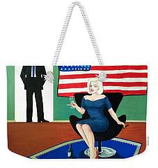 Jack And Marilyn Weekender Tote Bag