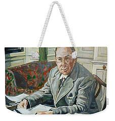 Jack C S Lewis Weekender Tote Bag