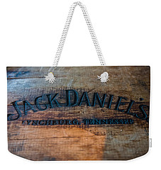 Jack Daniels Oak Barrel Weekender Tote Bag