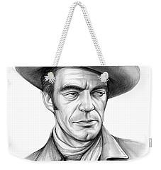 Cowboy Jack Elam Weekender Tote Bag