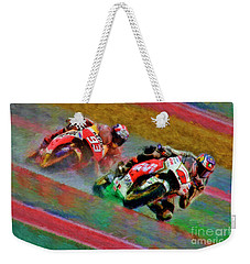 Jack Miller Leads Mark Marquez Weekender Tote Bag