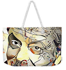 Jack Nicholson Weekender Tote Bag by Paul Van Scott