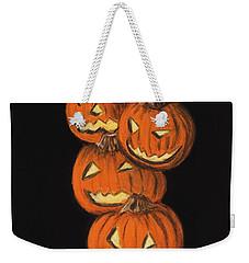 Jack-o-lantern Weekender Tote Bag
