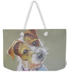 Jack Russell Watching You Weekender Tote Bag