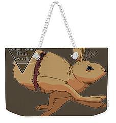 Jackalope Weekender Tote Bag