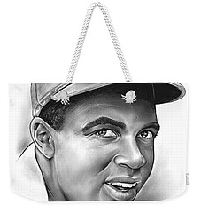 Jackie Robinson Weekender Tote Bag by Greg Joens