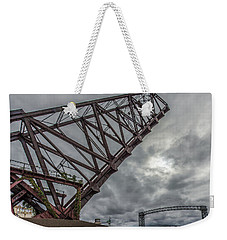 Jackknife Bridge To The Clouds Weekender Tote Bag