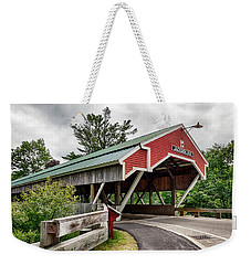 Jackson Covered Bridge Weekender Tote Bag