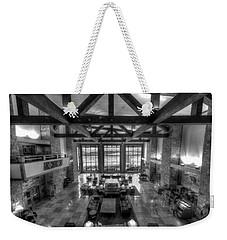 Jackson Lake Lodge Grand Tetons B W Weekender Tote Bag