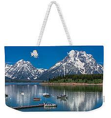 Jackson Lake Lodge Weekender Tote Bag