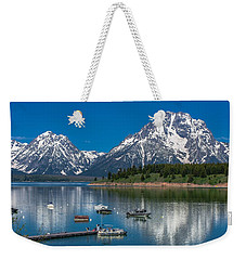 Jackson Lake Lodge Weekender Tote Bag