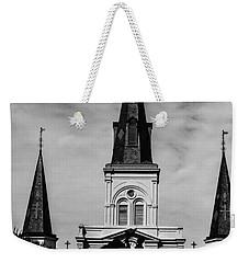 Jackson Square - Monochrome Weekender Tote Bag