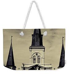Jackson Square - Split Tone Weekender Tote Bag