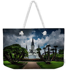 Jackson Square Sunrise Weekender Tote Bag