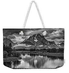 Jackson Wyoming Weekender Tote Bag by Hugh Smith