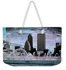 Jacksonville Florida Weekender Tote Bag by Bob Pardue