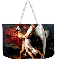 Jacob Wrestling With The Angel Weekender Tote Bag