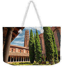 Weekender Tote Bag featuring the photograph Jacobin Convent In Toulouse by Elena Elisseeva