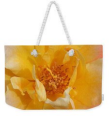 Weekender Tote Bag featuring the photograph Jacob's Bands Of Color by Marna Edwards Flavell
