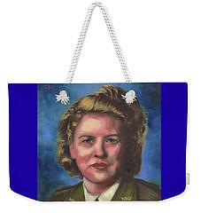 Jacqueline Cochran Weekender Tote Bag