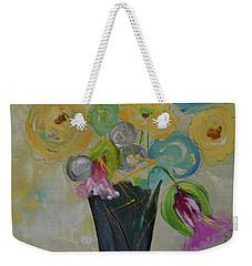 Jacqueline Weekender Tote Bag