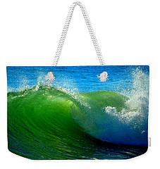 Jade Cascade Weekender Tote Bag