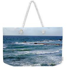 Jaffa Beach 10 Weekender Tote Bag by Isam Awad